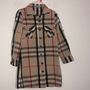 Burberry Plaid kids dress